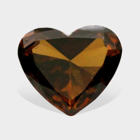 Cognac Red Color beautiful Heart Shape Loose Real Diamonds in Connecticut C | Loose Diamonds | Scoop.it