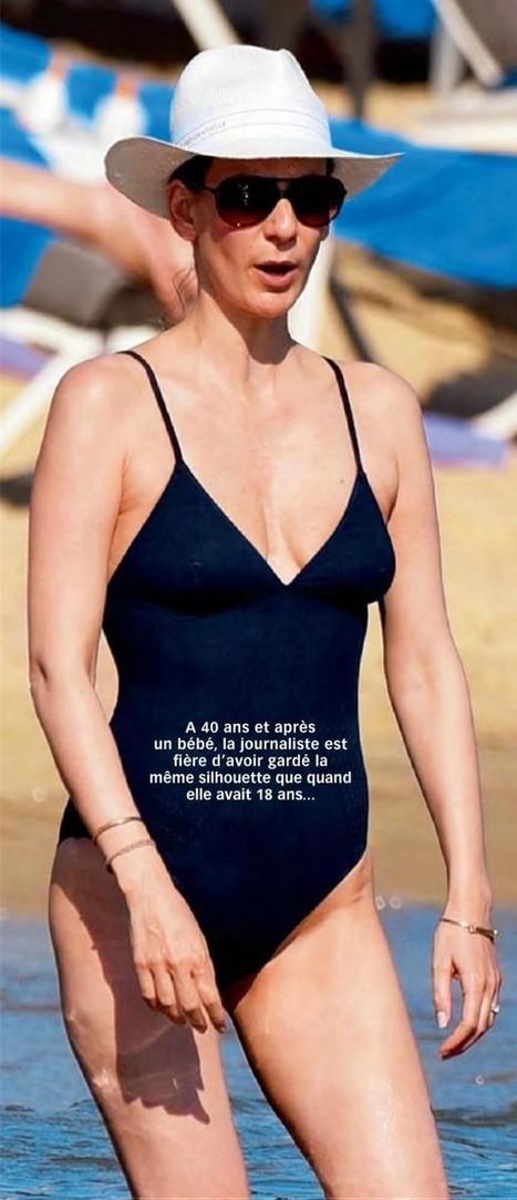 Photos : Marie Drucker en maillot de bain sexy dans Voici | Radio Planète-Eléa | Scoop.it