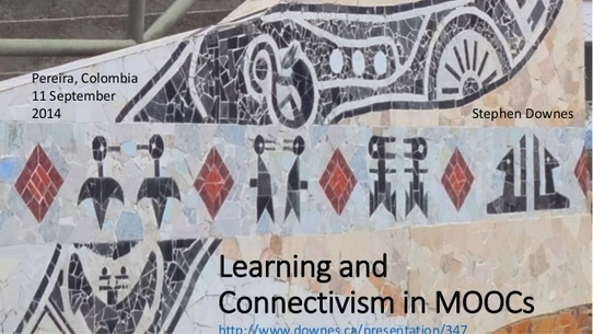 Learning and Connectivism in MOOCs