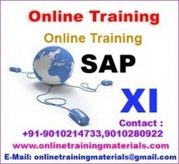 SAP XI online training institute in Ameerpet, SAP XI Online Training Institute from Hyderabad India.   Online Training Materials   Online Training   Scoop.it