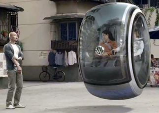 "Video of Volkswagen concept ""Hover Car""   It's Show Prep for Radio   Scoop.it"