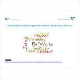 Comparaison de programmes de gestion de références -- 5ème édition | Veille et bibliographie | Scoop.it