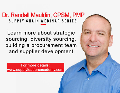 Renowned management and supply chain specialist to conduct series of webinar  | Supply Management | Scoop.it