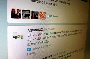 "World first Twitter forum - The Land Newspaper | AgriChatWorld ""World Food Day"" 