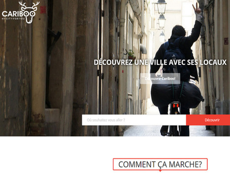 Cariboo : le Uber des guides passe à l'attaque | Infos e-tourisme FROTSI Bourgogne | Scoop.it