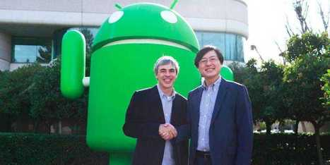 Google Sells Motorola To Lenovo For $2.9 Billion | cross pond high tech | Scoop.it