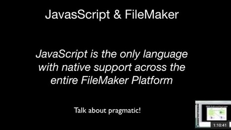 Integrating JavaScript and FileMaker - FileMakerProGurus | All things Filemaker  Go | Scoop.it