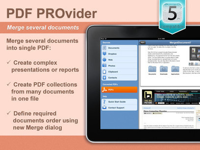 PDF PROvider for iPad | Ipads Advisor | iPads in EdTech | Scoop.it