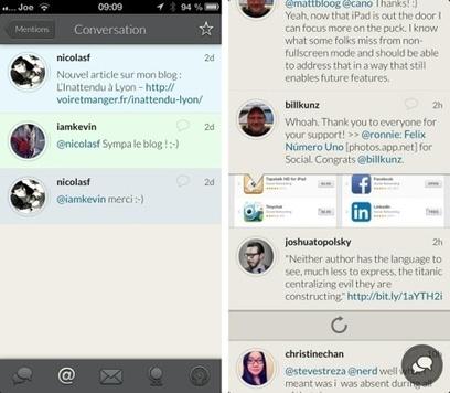 App.net : Felix parie sur les gestes et l'iPad   Communication et réseaux   Scoop.it