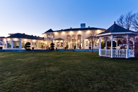 Waterfront Estate | 1069 Boulevard Proulx, Pointe-Calumet, QC | Luxury Real Estate Canada | Scoop.it