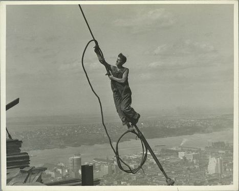 24 Jaw-Dropping Photos Of The Construction Of The Empire State Building | Interesting Construction Stuff! | Scoop.it