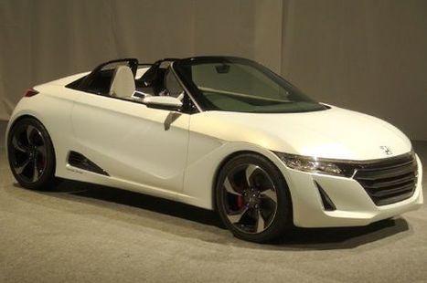 Honda S660 Concept: Nearly Ready For Production - MotorTrend Magazine   HondaSeekonk   Scoop.it