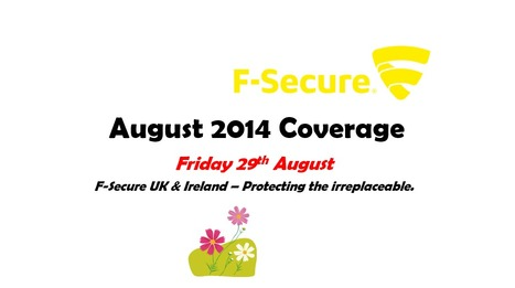 August 2014 Coverage (29th) | F-Secure Coverage (UK) | Scoop.it