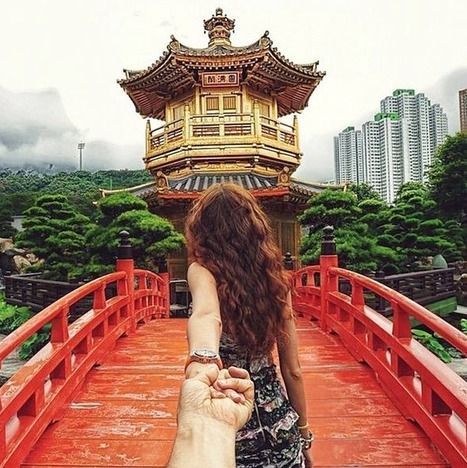 Girlfriend Leads Man Around the World in Breathtaking Pics... | Art for art's sake... | Scoop.it