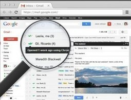 MailTrack. Sachez quand un mail envoyé avec Gmail est lu | Gestion de l'information | Scoop.it