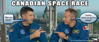 Canadian Space: Canadian Astronaut Announcement Standard Operating Procedure | More Commercial Space News | Scoop.it