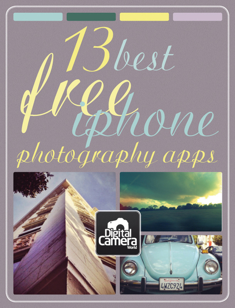 13 best free photography apps for iPhone | Digital Camera World | Photography | Scoop.it