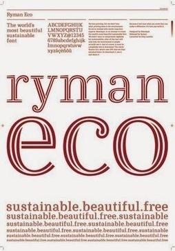 """Ryman Eco – a nova fonte """"sustentável""""   Eco   Scoop.it"""