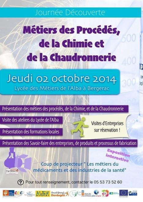 Métiers de la Chimie et de la Chaudronnerie | Lycée des métiers SUD PERIGORD | Scoop.it