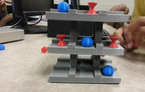 Ohio Teacher is Teaching Game Design with 3D Printing: Comes up with Incredibly Inventive 3D Tic-Tac-Toe | Using Technology to Transform Learning | Scoop.it