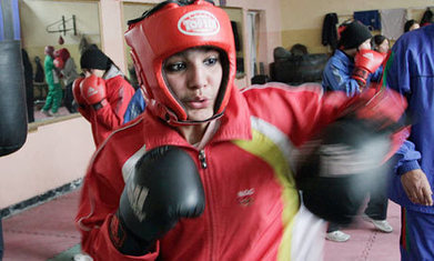 Female Afghan boxers could miss UK bout | Continuity and Change in Afghanistan | Scoop.it