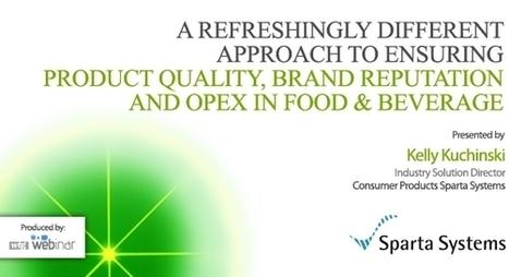 5 concerns for the food and beverage industry - WTG BLOG | WTG Blog | Scoop.it