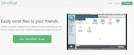 SendRail - Easily Send Files To Your Friends | Time to Learn | Scoop.it