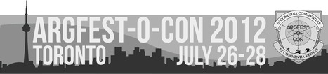 ARG & TRANSMEDIA : du 26 au 28 juillet Toronto accueille l'ARGFest-o-Con 2012 | Transmedia lab | Scoop.it