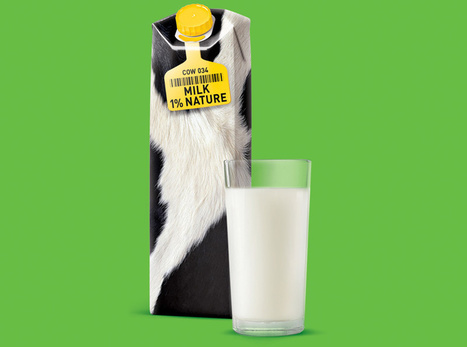 #Packaging : Peaux à lait - Communication (Agro)alimentaire | Communication Agroalimentaire | Scoop.it