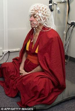 Is this the world's happiest man? Brain scans reveal French monk has 'abnormally large capacity' for joy - thanks to meditation | Méditation & Pleine Conscience | Scoop.it