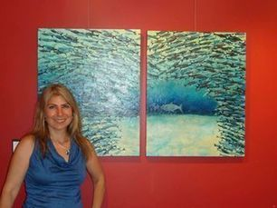 Artist tries to save oceans one class at a time - InsideHalton.com | Helping Wildlife Conservation Through Art | Scoop.it