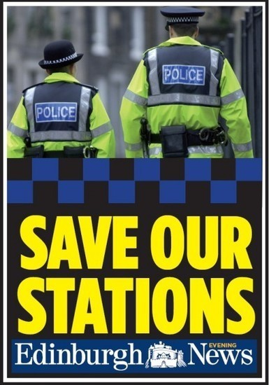 Edinburgh Evening News launches campaign to keep police stations open - Journalism News from HoldtheFrontPage | Today's Edinburgh News | Scoop.it