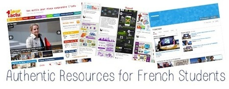 The French Corner: Where to Find Authentic Resources for French Students of All Levels | Activities & songs | Scoop.it