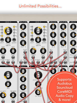 MATRIXSYNTH: Modular Synthesizer for iPad and iPhone Now Available   DIY Music & electronics   Scoop.it