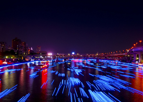 ART~Foto >§< 100,000 Blue Orbs Floating Down a River in Tokyo | ART ~ Design ~ Cooltour | Scoop.it