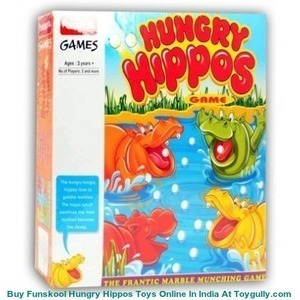 Buy Funskool Hungry Hippos Game Online |Toygully.com | KidsToys | Scoop.it