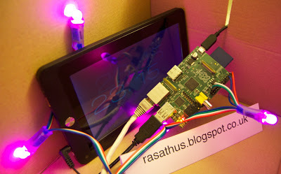 Rasathus' Raspberry Ramblings: Lights In A Box - Part 2 | Arduino, Netduino, Rasperry Pi! | Scoop.it