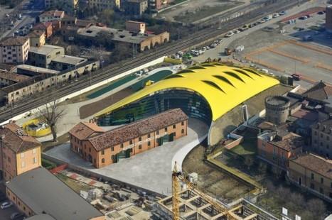 Enzo Ferrari Museum / Future Systems + Shiro Studio | The Architecture of the City | Scoop.it