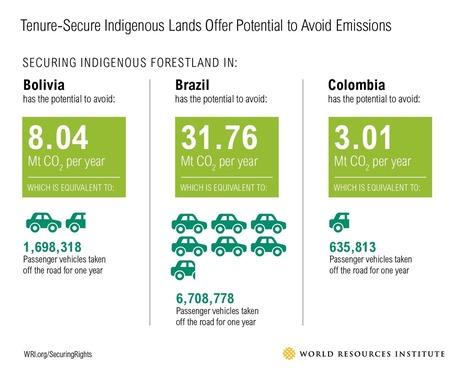 Protecting Indigenous Land Rights Makes Good Economic Sense | World Resources Institute | Confidences Canopéennes | Scoop.it