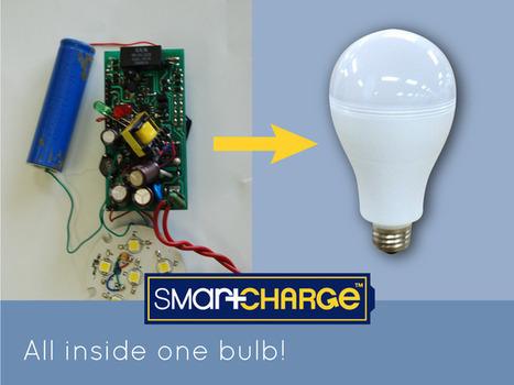 L'ampoule SmartCharge brille même en cas de panne de courant - Abavala !!! | Domotique | Scoop.it