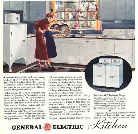 Il y a 80 ans... Le Figaro présentait la cuisine du futur | Aménagement des espaces de vie | Scoop.it