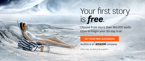 Audible, try it free - 30 day audiobooks free trial from Audible   Audible.com   Inglese. Strumenti online.   Scoop.it