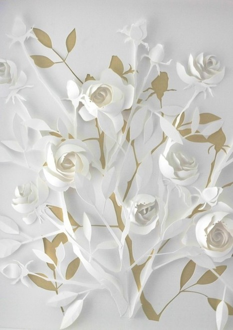 Paper Cut Art par Marina Adamova - Journal du Design | Ca m'interpelle... | Scoop.it
