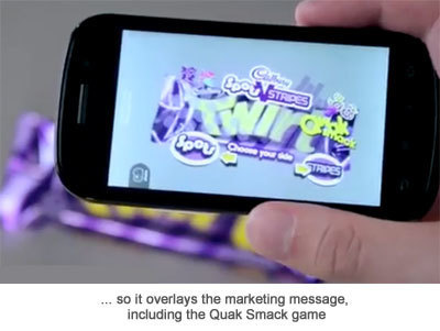 Cadbury Launches Campaign Using New Augmented Reality ... | Augmented Reality News and Trends | Scoop.it