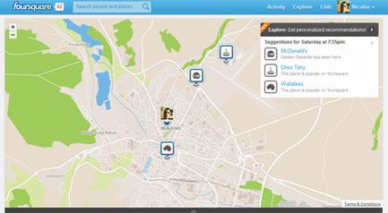 Foursquare abandonne Google Maps, complications en vue pour Google ?   Nouveaux business models du web pour la complémentaire santé   Scoop.it