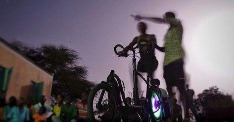 A Dakar, on se fait son cinéma et son électricité à la force du mollet   Energies Renouvelables   Scoop.it