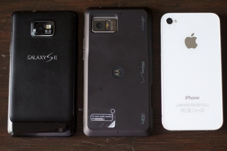 A practical comparison of the Apple iPhone 4S, Samsung Galaxy S II and Motorola Droid Bionic | Technology and Gadgets | Scoop.it