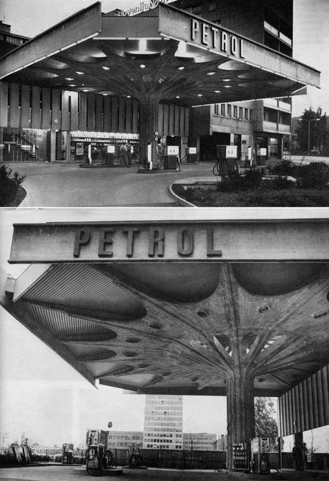 The Amazing Architectural Evolution of the Filling Station | Outbreaks of Futurity | Scoop.it