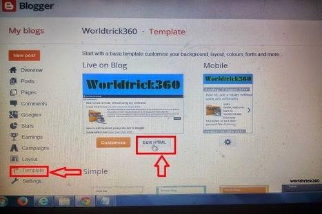 How to add stylish Label widget to blogger | Worldwidenetworkings and worldtrick360 | Scoop.it
