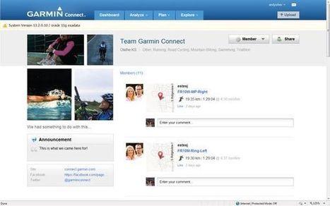 Garmin | France | Blog | Nouveau sur Garmin Connect : partagez votre passion avec un groupe ! | Actu des loisirs de plein air | Scoop.it